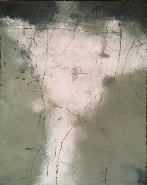 """mixed media painting """"Pencilled In The Margin"""""""