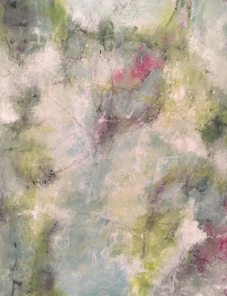 abstract painting by Carole Lelslie